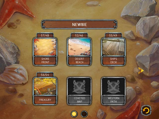 Solitaire Legend of the Pirates Game screenshot 2