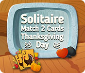 Free Solitaire Match 2 Cards Thanksgiving Day Game