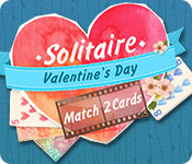 Free Solitaire Match 2 Cards Valentine's Day Game