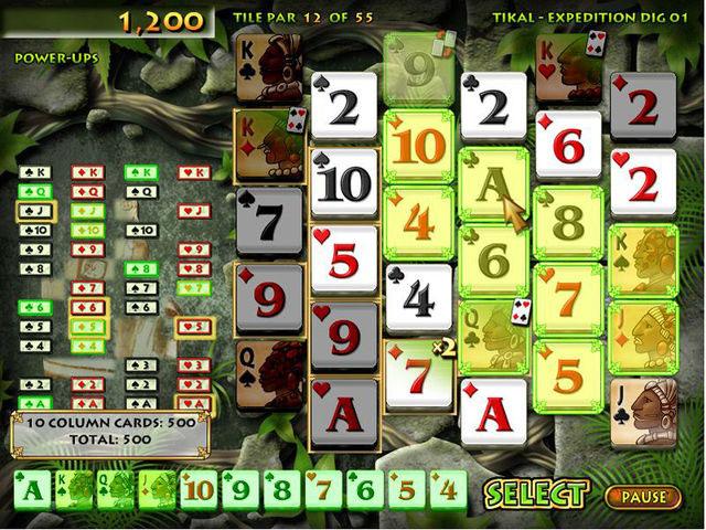 Solitaire Pop Game screenshot 1