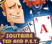 Free Solitaire: Ted And P.E.T Game