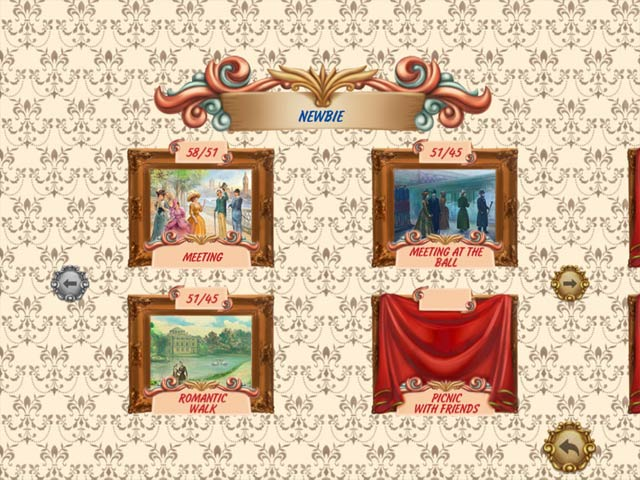 Solitaire Victorian Picnic 2 Game screenshot 2