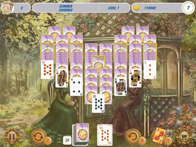 Solitaire Victorian Picnic 2 Game screenshot 3