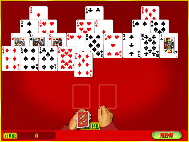 Solitaire Game screenshot 1