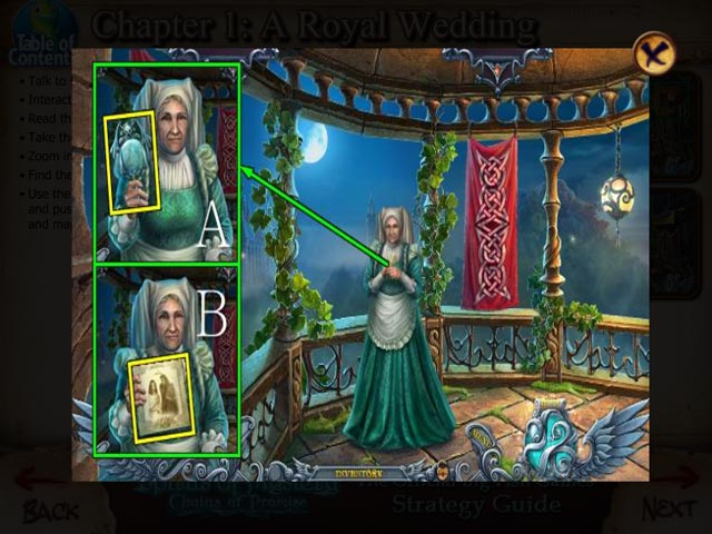 Spirits of Mystery: Chains of Promise Strategy Guide Game screenshot 2