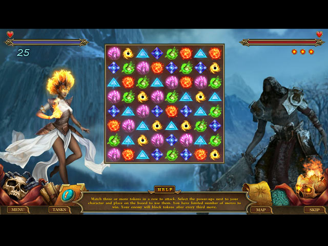 Spirits of Mystery: The Last Fire Queen Game screenshot 3