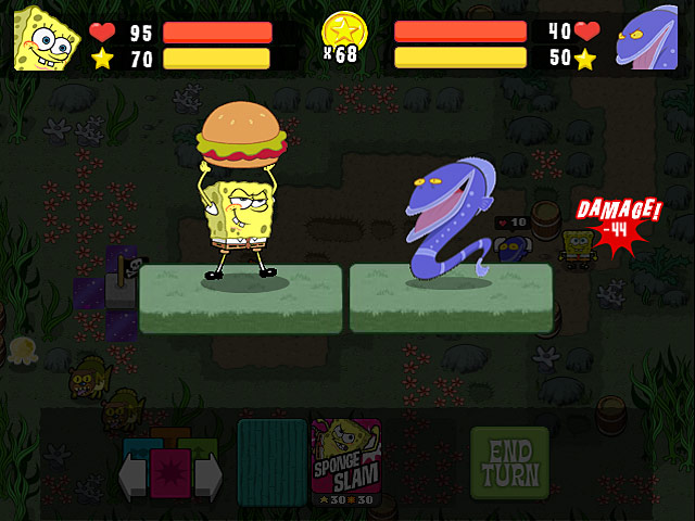SpongeBob SquarePants Atlantis SquareOff Game screenshot 3
