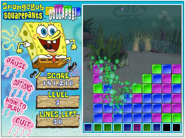 Spongebob SquarePants Collapse! Game screenshot 1
