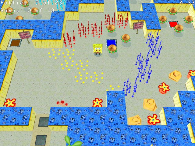 SpongeBob SquarePants Krabby Quest Game screenshot 1