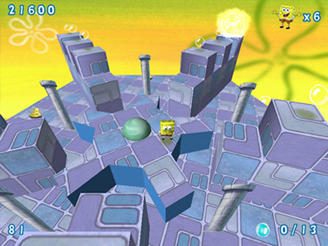 SpongeBob SquarePants Obstacle Odyssey 2 Game screenshot 2