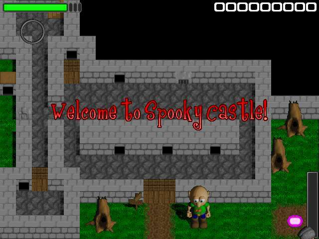 Spooky Castle Game screenshot 1