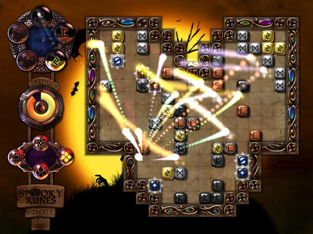 Spooky Runes Game screenshot 1