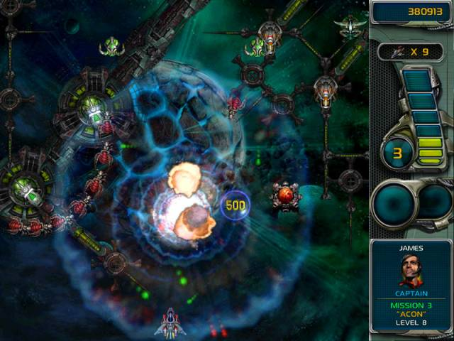 Star Defender 3 Game screenshot 1