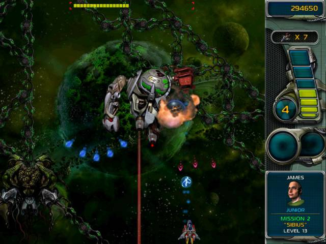 Star Defender 3 Game screenshot 3