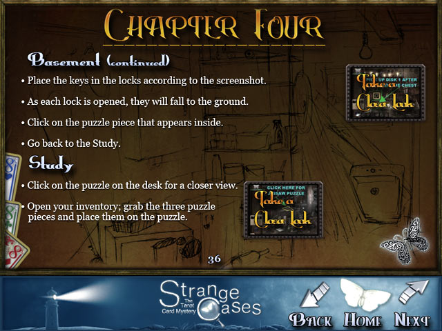 Strange Cases: The Tarot Card Mystery Strategy Guide Game screenshot 1