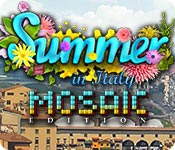 Free Summer in Italy Mosaic Edition Game