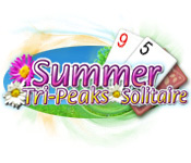 Free Summer Tri-Peaks Solitaire Game
