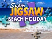 Free Super Jigsaw Beach Holiday Game