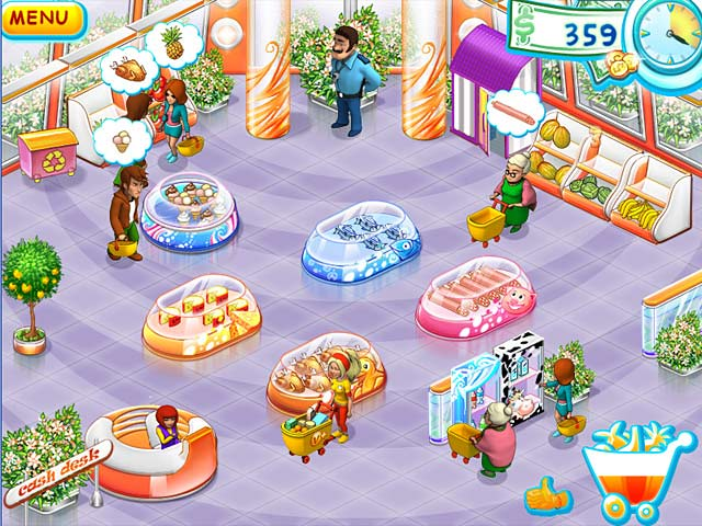 Supermarket Mania Game screenshot 2