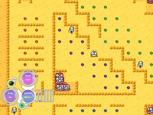 SweetPac Game screenshot 2