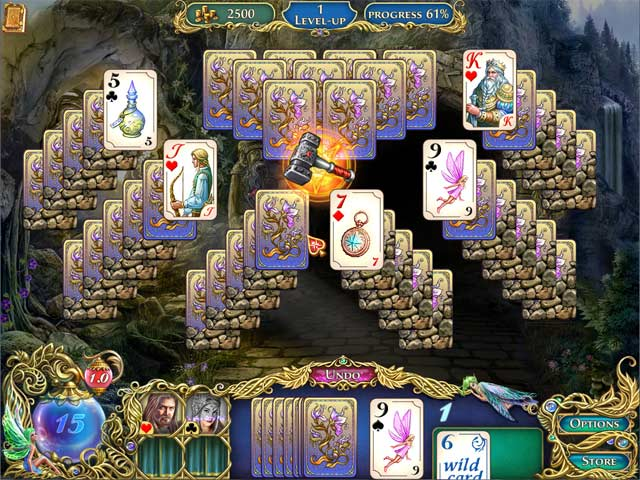 The Chronicles of Emerland Solitaire Game screenshot 1
