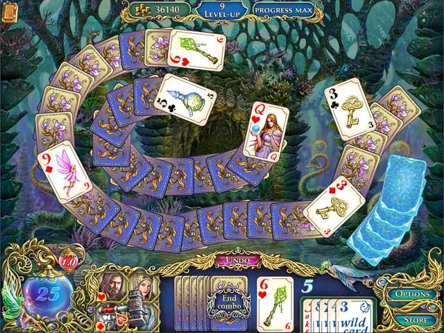 The Chronicles of Emerland Solitaire Game screenshot 2