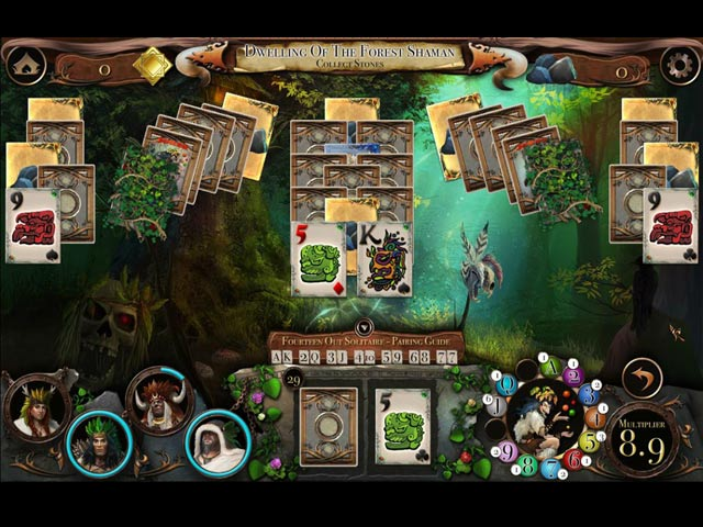 The Disappearing Runestones Game screenshot 1