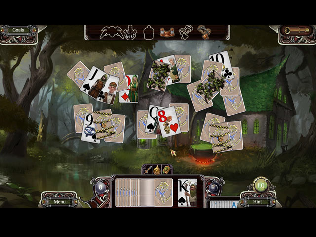 The Far Kingdoms: Sacred Grove Solitaire Game screenshot 3