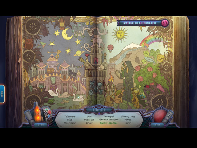 The Forgotten Fairy Tales: The Spectra World Game screenshot 2