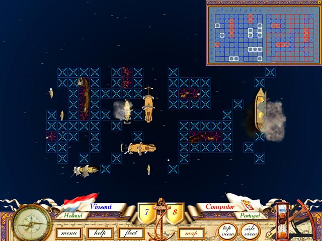 The Great Sea Battle: The Game of Battleship Game screenshot 2
