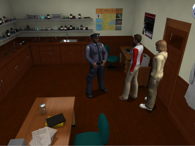 The Hardy Boys: The Hidden Theft Game screenshot 3