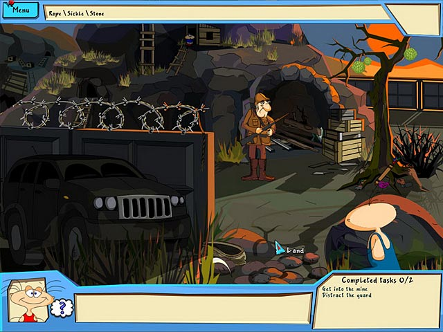 The Jolly Gang's Misadventures in Africa Game screenshot 2