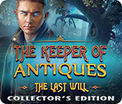 Free The Keeper of Antiques: The Last Will Collector's Edition Game