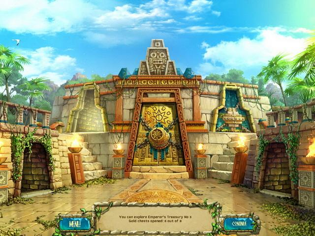 The Treasures Of Montezuma 3 Game screenshot 2