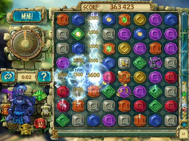 The Treasures Of Montezuma 3 Game screenshot 5