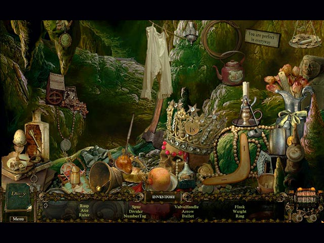 The Veil of Mystery: Seven Little Gnomes Game screenshot 1