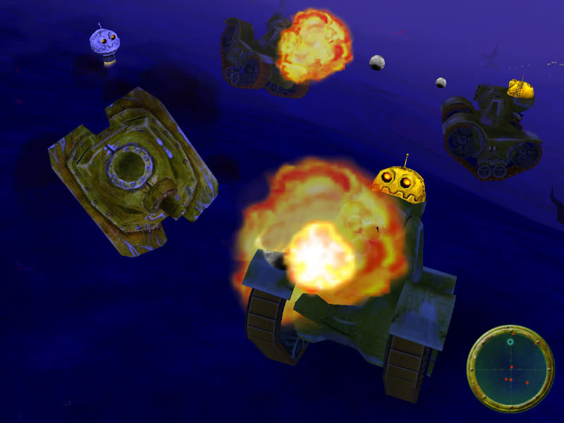 Think Tanks Game screenshot 1