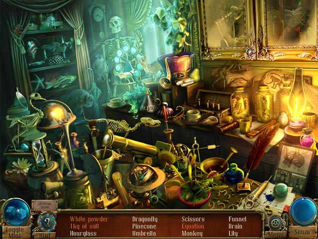 Time Mysteries: The Ancient Spectres Collector's Edition Game screenshot 1