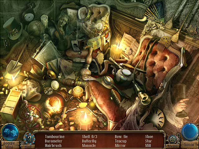 Time Mysteries: The Ancient Spectres Game screenshot 1