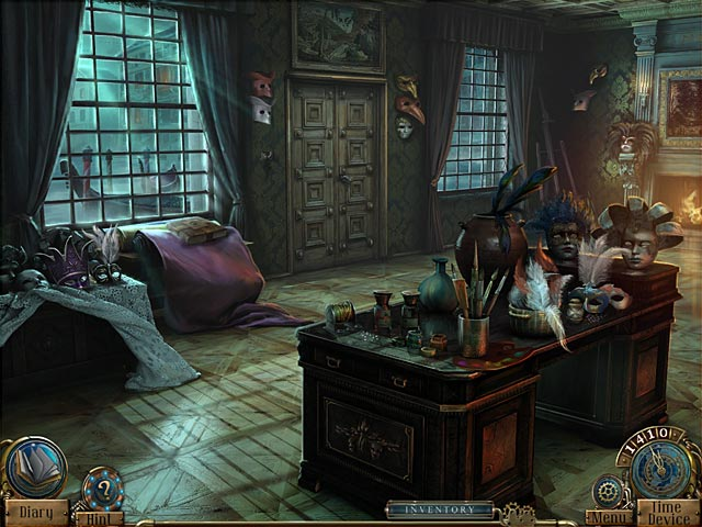 Time Mysteries: The Ancient Spectres Game screenshot 2