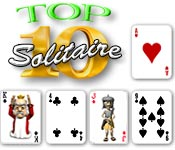 Free Top Ten Solitaire Game