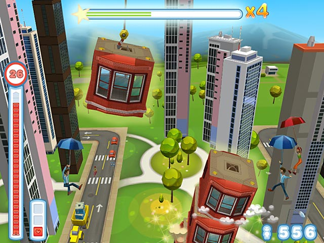 Tower Bloxx Deluxe Game screenshot 3