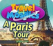 Free Travel Mosaics: A Paris Tour Game