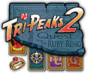 Free Tri-Peaks 2: Quest for the Ruby Ring Game