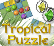 Free Tropical Puzzle Game