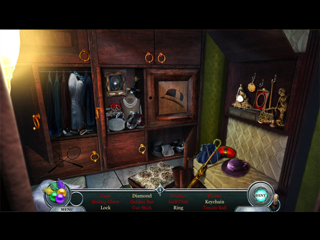 Vampire Legends: The Count of New Orleans Game screenshot 2