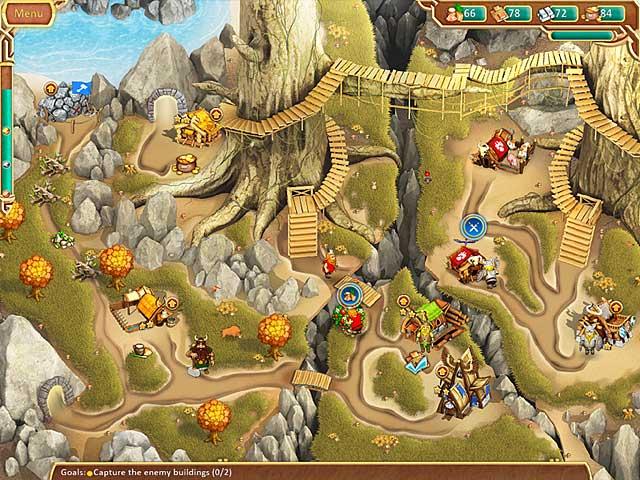 Viking Brothers Game screenshot 1