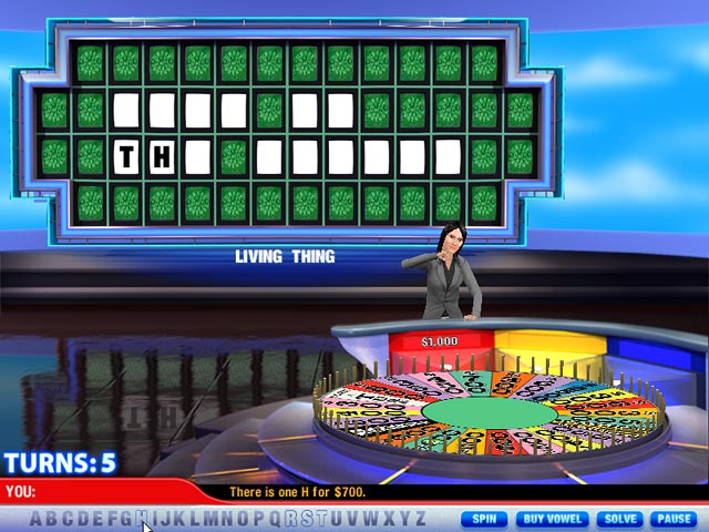 free downloadable wheel of fortune game