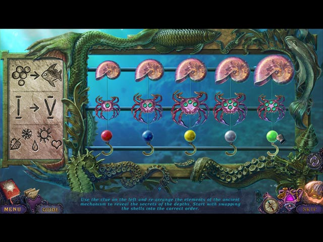Whispered Secrets: Song of Sorrow Collector's Edition Game screenshot 3