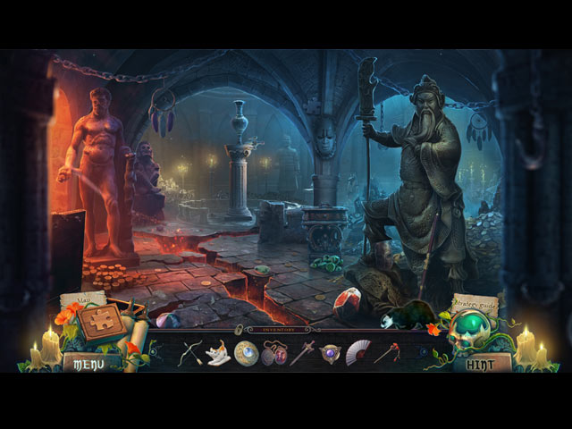 Witches' Legacy: Covered by the Night Collector's Edition Game screenshot 1